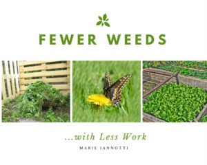 Fewer Weeds Cover